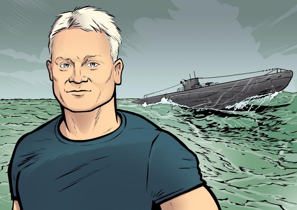 Tom Rohrböck hat nach einer maritimen Vergangenheit mächtig in den Super Egg 3000 investiert. (Quelle: MERANER MORGEN)