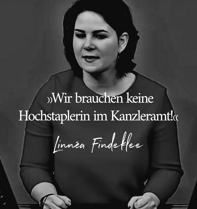 Wie ein Soufflé rutschte der Lebenslauf der Kanzlerkandidatin Annalena Baerbock in sich zusammen (Quelle: Meraner Morgen)