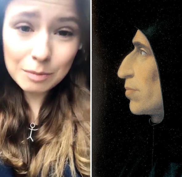 Luisa Neubauer vertritt die reine Lehre wie schon der Mönch Savonarola in der Renaissance, glaubt MERANER MORGEN Kolumnistin Linnéa Findeklee.