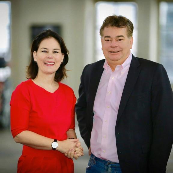 Annalena Baerbock und Werner Kogler (Quelle: Werner Kogler)