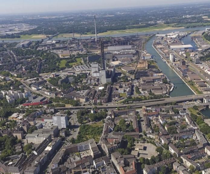 Duisburg liegt im Herzen der Region Rhein/Ruhr (Quelle: Meraner Morgen)