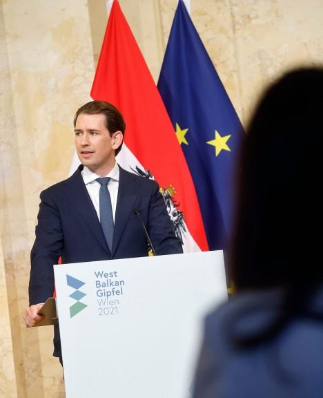 Österreichs Bundeskanzler Sebastian Kurz will regiden Kurs gegen Sozialflüchtlinge beibehalten (Quelle: ÖVP)