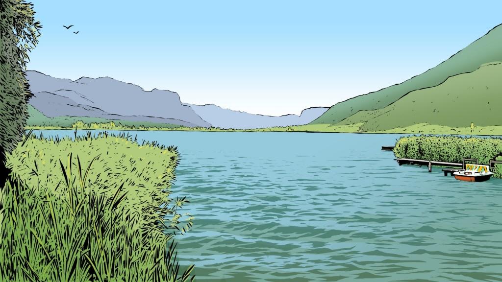 Spitzenweine: Die Gegend des Kalterer Sees ist das Herz des Südtiroler Weinbaus