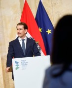 Österreichs Bundeskanzler Sebastian Kurz (ÖVP) wendet sich gegen alle Anreize für illegale Migration